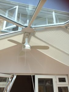 Conservatory Blinds frm blind and curtain company in Tewkesbury