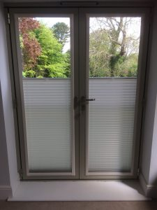 Before blinds fitted by blind and curtain company in Tewkesbury