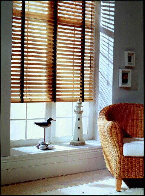 Styled shot of venetian blinds from curtain and blind specialist in Gloucestershire