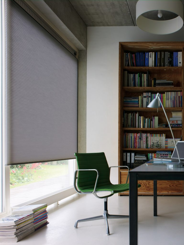 Duette Blinds in office from Tewkesbury based blind and curtain company