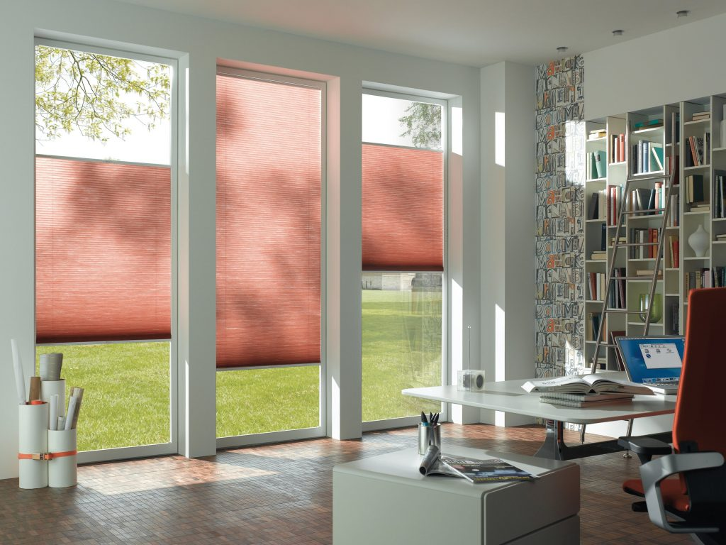 Pink Dueet Blinds Blinds from blind company based in Gloucestershire