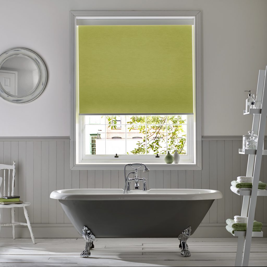 Azaria Lime Roller Blind from Blind company in Gloucestershire