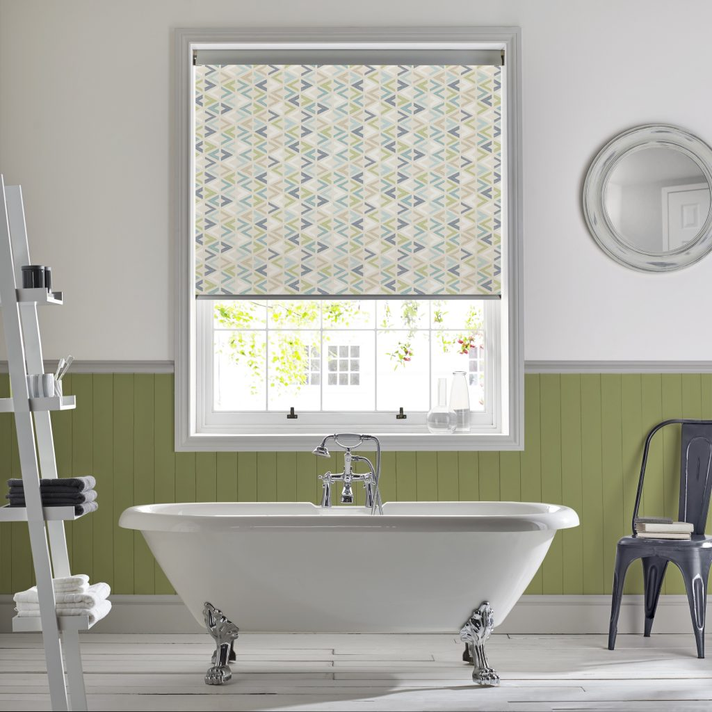 Azzura Aqua Duo Blind from blind and curtain company based in Tewkesbury