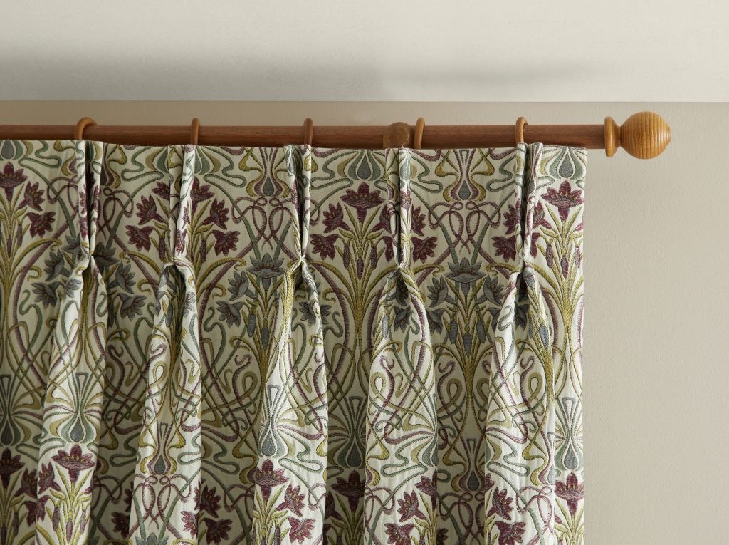 Costwold Jade fabric by laskeys blind and curtain company