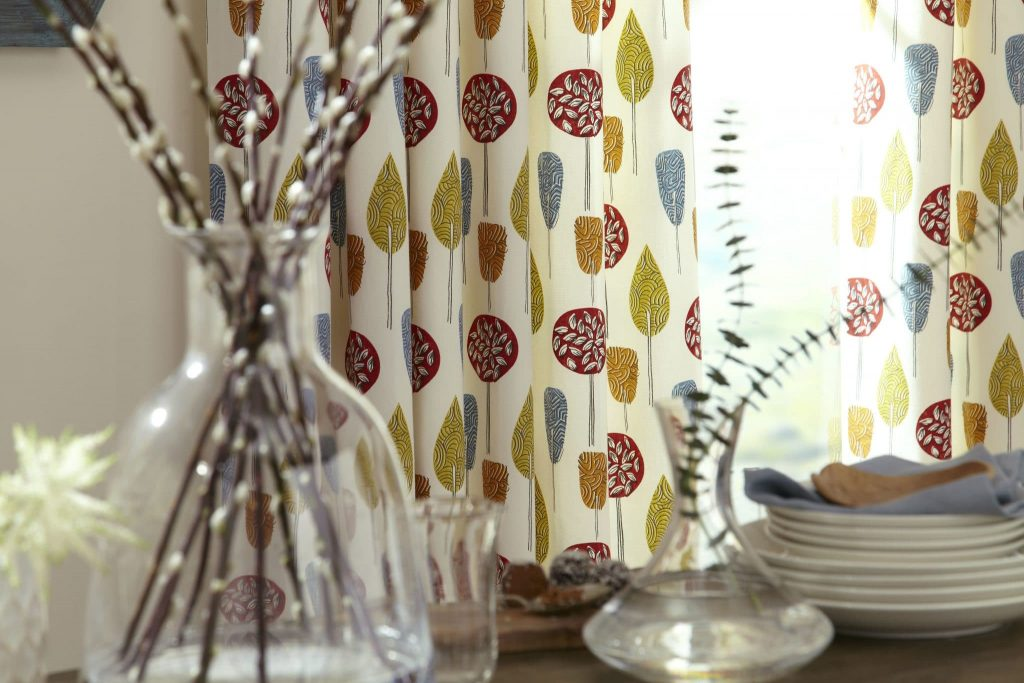 Scandi Scandi Fabric from curtain and blind company in Tewkesbury