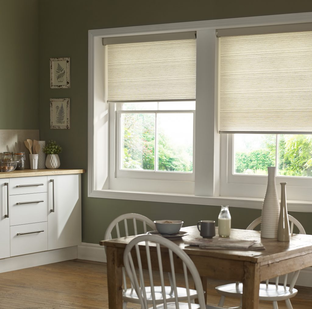 Kassala Emerald Roller Blind from blind and curtain company based in Tewkesbury