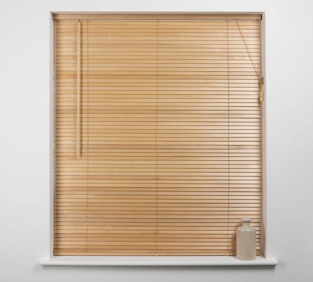 Wooden blinds from blind and curtain company in Gloucestershire
